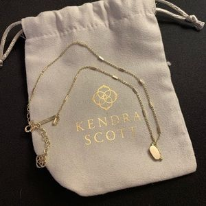 Fern Pendent Necklace in Gold by Kendra Scott